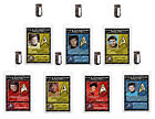 Star Trek Spock James T Kirk ID Badge Cosplay Starfleet Prop Costume Comic Con