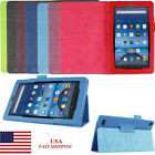 kindle usa - Elegant Leather Case Stand Cover Protecter For Amazon Kindle Fire HD7 Tablet USA