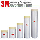 [3M] Adhesive Masking Film Tape Poly Surface Painting Protection Cover Pre-Taped