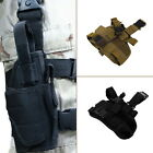 Practical Airsoft Military Tactical Pistol Drop Leg Thigh Holster Pouch LN