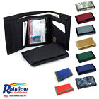 Rainbow of California Made in USA Tri-Fold Wallet Nylon Water Resistant Grt Gift