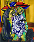 The Weeping Woman Pablo Picasso - Poster Canvas Art print A4 A3 A2 A1 new best
