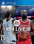 BRAND NEW! SEALED NBA Live 18 - PS4 (Sony PlayStation 4)