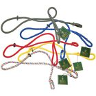 Slip Leads by Bisley - Blue Red Yellow Green Multicolour Gun Dog Training Lead
