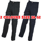 Unisex Mens Womens Cargo Combat Trousers with Knee Pads Bottoms Work Pants LOT