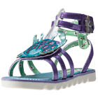 Irregular Choice Crab Gladiator Kids Purple Synthetic Casual Sandals Strap