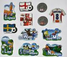 Decor Magnets Football England Scandinavia Sweden Ireland