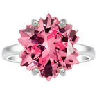 Pink Morganite 925 Sterling Silver Ring Jewelry DGR1206