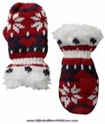 Baby Gap NWT Ivory Frost FAUX FUR LINED SWEATER DRESS MITTENS 0 3 6 9 12 Months