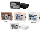 KATO POLYCLAY Polymer Clay Oven Bake 12.5 oz BLACK WHITE TRANSLUCENT FLESH BROWN image