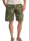 Men's Wrangler Camo Cargo Shorts Loose Relaxed Fit Hits At Knee ALL SIZES 34-48
