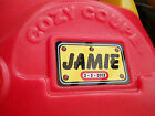 personalised numberplate for little tikes cozy coupe car, ideal birthday gift