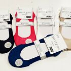 Ladies Footies, Socks, Non-Slip Through Silicone, 5 Colors, Größe 35 Bis 42