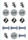 Chicago White Sox Edible Print Cupcake/Cookie Toppers Frosting Sheets 2 Sizes on Ebay