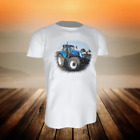 (13 08) T-Shirt TRAKTOR BULLDOG NEW HOLLAND T7.270 - Gr. 92 - 164 - inkl. Name