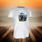 (13 09) T-Shirt TRAKTOR BULLDOG NEW HOLLAND TN70DA - Gr. 92 - 164 - inkl. Name