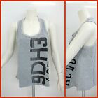 DEHA women vest top D33030 74912 col.GRIGIO MELANGE/BLACK summer 2016