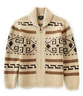 PENDLETON WESTERLY DUDE WOOL SHAWL CARDIGAN SWEATER BIG LEBOWSKI INDIAN AZTEC