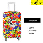 Brand Elastic travel luggage cover Animal Printing Protective Suitcase cover