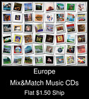 Europe(1) - Mix&Match Music CDs U Pick *NO CASE DISC ONLY*
