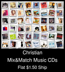 Christian(11) - Mix&Match Music CDs U Pick *NO CASE DISC ONLY*