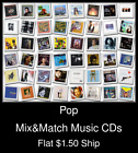 Pop(24) - Mix&Match Music CDs U Pick *NO CASE DISC ONLY*