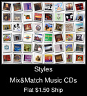 Styles(49) - Mix&Match Music CDs U Pick *NO CASE DISC ONLY*