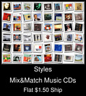 Styles(50) - Mix&Match Music CDs U Pick *NO CASE DISC ONLY*