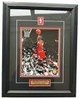 Michael Jordan Chicago Bulls Framed 50x40cm Large High Quality Picture Photo