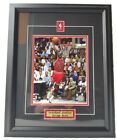 Michael Jordan Chicago Bulls Framed 50x40cm Large High Quality Picture Photo # 1