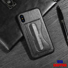 For iPhone 7 8 Plus X Phone Case Retro Leather Back Cover Kickstand & Card Plus