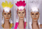 Bohemia Feather Headdress Headband Tassel Showgirl Halloween Masquerade Party