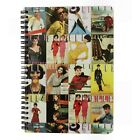 A5 ELLE Vintage Notebook 50s 60s Quirky Retro  Wirebound Lined 100 Pages V8E