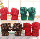 Set of 2 Incredible Hulk Smash Hands Plush Punching Boxing fists Gloves Cosplay