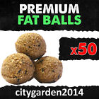 Premium Fat Balls (No Net) High Energy Food for Wild Birds