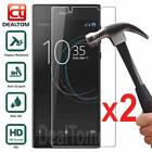 2Pcs Tempered Glass Screen Protector Film For Sony Xperia Z1 Z2 Z3 Z4 Z5 XA XZ X