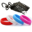 4 Pack Multi Color 6MM Silicone Wedding Bands For Active Men/Women Ring