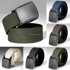 Army Belt Military Outdoor Tactical Nylon Men Waistband Canvas Sports 6 Colors