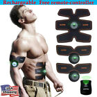 Rechargeable ABS Simulator Training Body Abdominal Muscle Exerciser Home Workout image