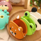 Silicone Wallet Women's Girls Gift Cartoon Animal Jelly Key Coin Purse Present