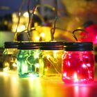 Battery Operated LED Bottle String Light Outdoor Garden Yard Tree Decor Lamp ug