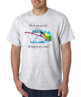 USA Made Bayside T-shirt When The Going Gets Tough Go On A Cruise
