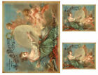 Vintage Grunge French Angels Art Furniture Transfer Waterslide Decals ANG045