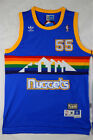 Denver Nuggets Dikembe Mutombo no55 blue throwback mens jersey SMLXL2XL