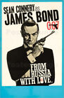 Poster James Bond movie 'From Russia with Love' - English School £6.9 GBP on eBay