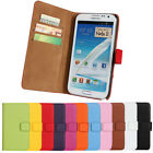 best case for samsung galaxy note 2 - Best For Samsung Galaxy Note 2 N7100 Genuine Leather Wallet Case Protector Pouch