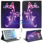 US Tablet PC Stand Flip PU Leather Cover Case For Samsung/Lenovo/Sony/LG Tab 10""