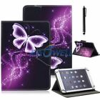 """Painted Magnetic Flip Stand Leather Wallet Case Cover For Samsung Tablet PC 7"""""""