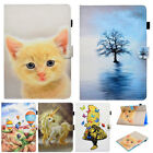 For iPad 2 3 4 Mini Air 2 Pro Stand Magnetic Smart Pattern PU Leather Case Cover