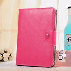 For Most 7*-10.1* Androids Tablet Universal PU Leather Stand Case Cover +Stylus